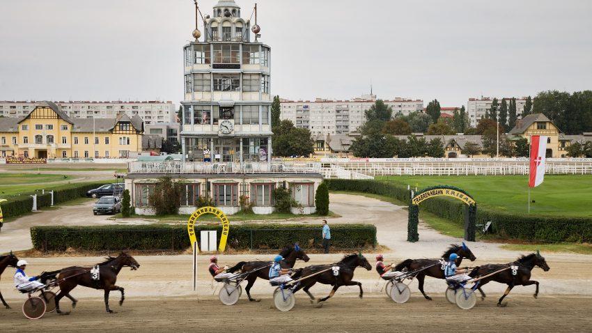 Krieau-banen i Wien