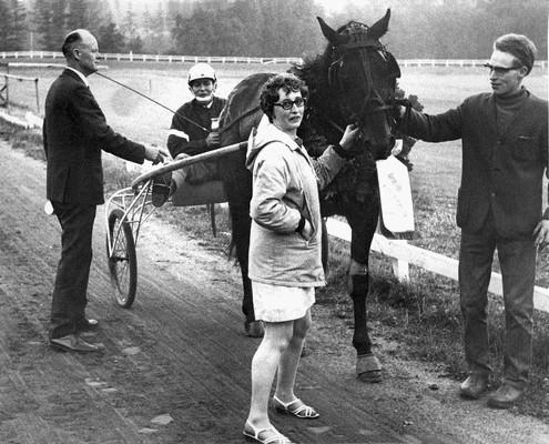 K.A. Falkenberg Nikodemus Vera og Hans Anker Jensen ejede hesten